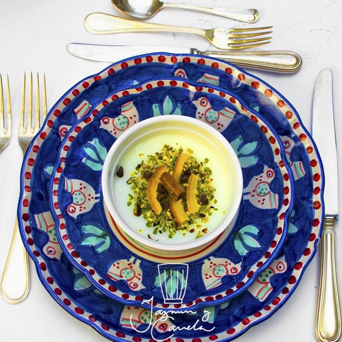 Manjar Blanco A LA CANELA – BIANCOMANGIARE ALLA CANNELLA  (ricetta di Magda Diliberto)