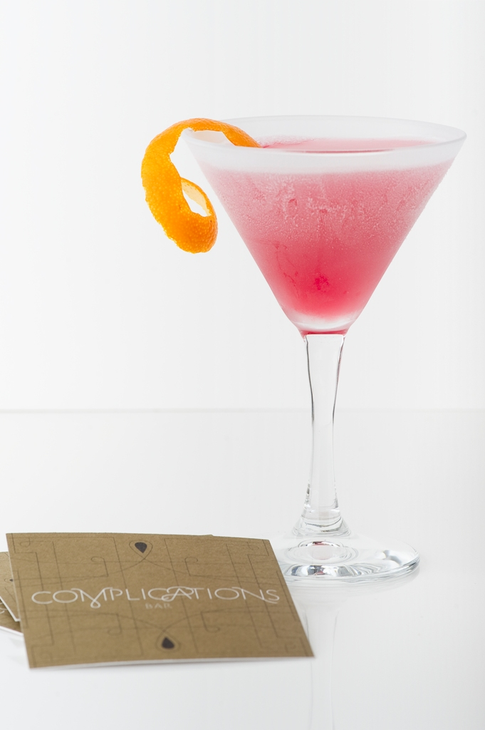 Cosmopolitan coctel, complicaciones bar