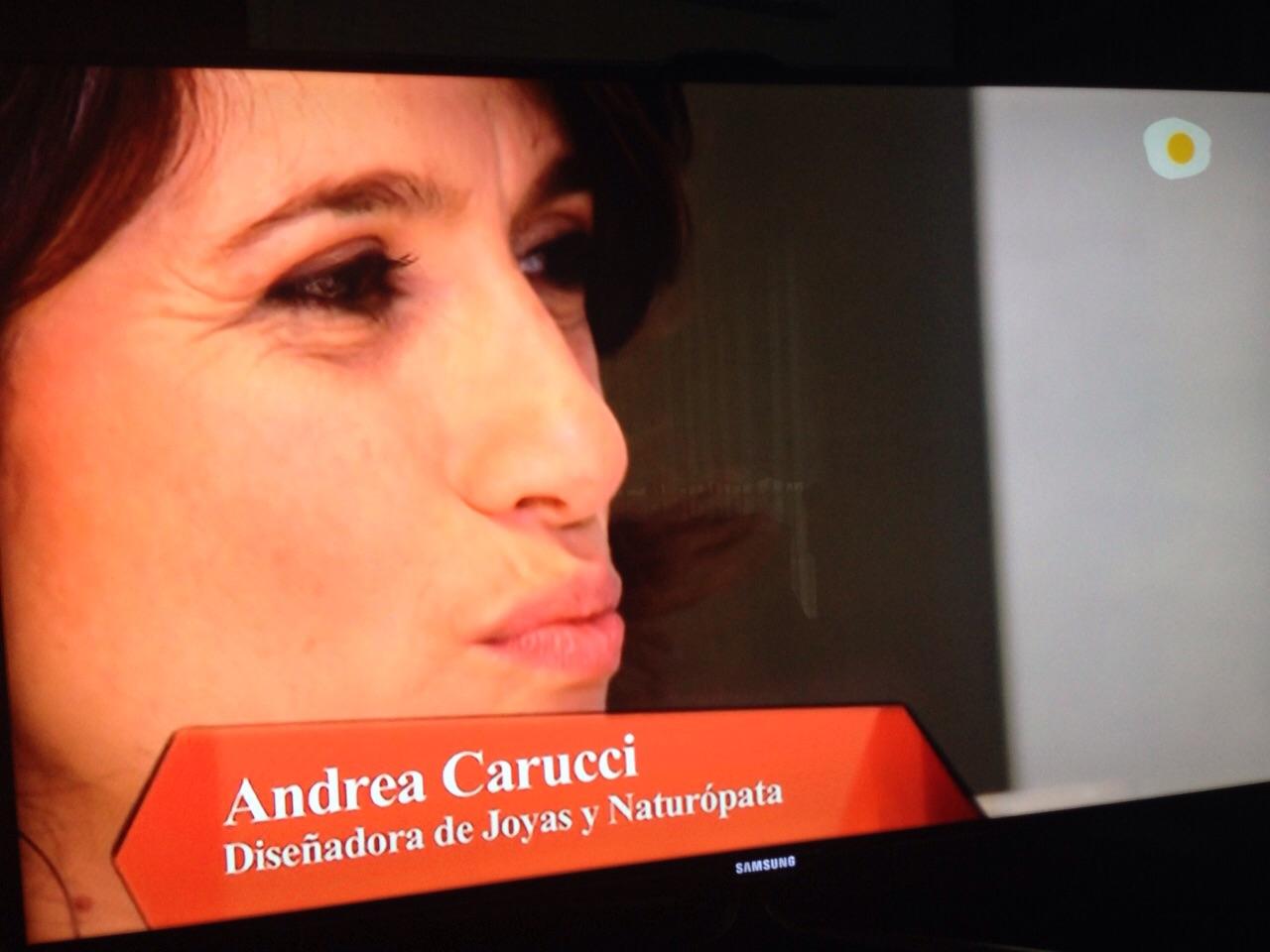 Andrea Carucci en Canal Cocina EN BOCA DE TODOS nº 91