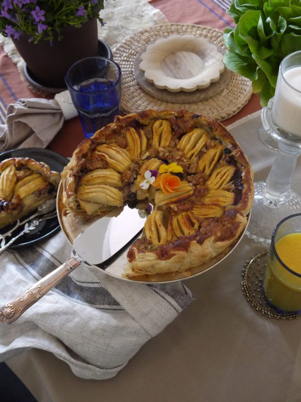 Tarta de manzana fácil Livinda