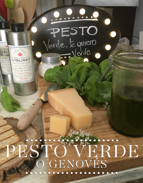 Receta Pesto verde, el auténtico a la genovese sin ajo