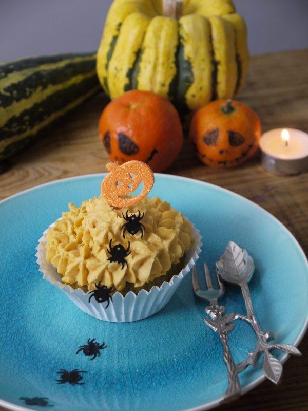 Cupcake de Calabaza y Jengibre | Sin Gluten |