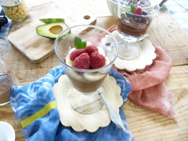 Receta Mousse de chocolate sin huevo, sin gluten, sin grasas y sin lácteos