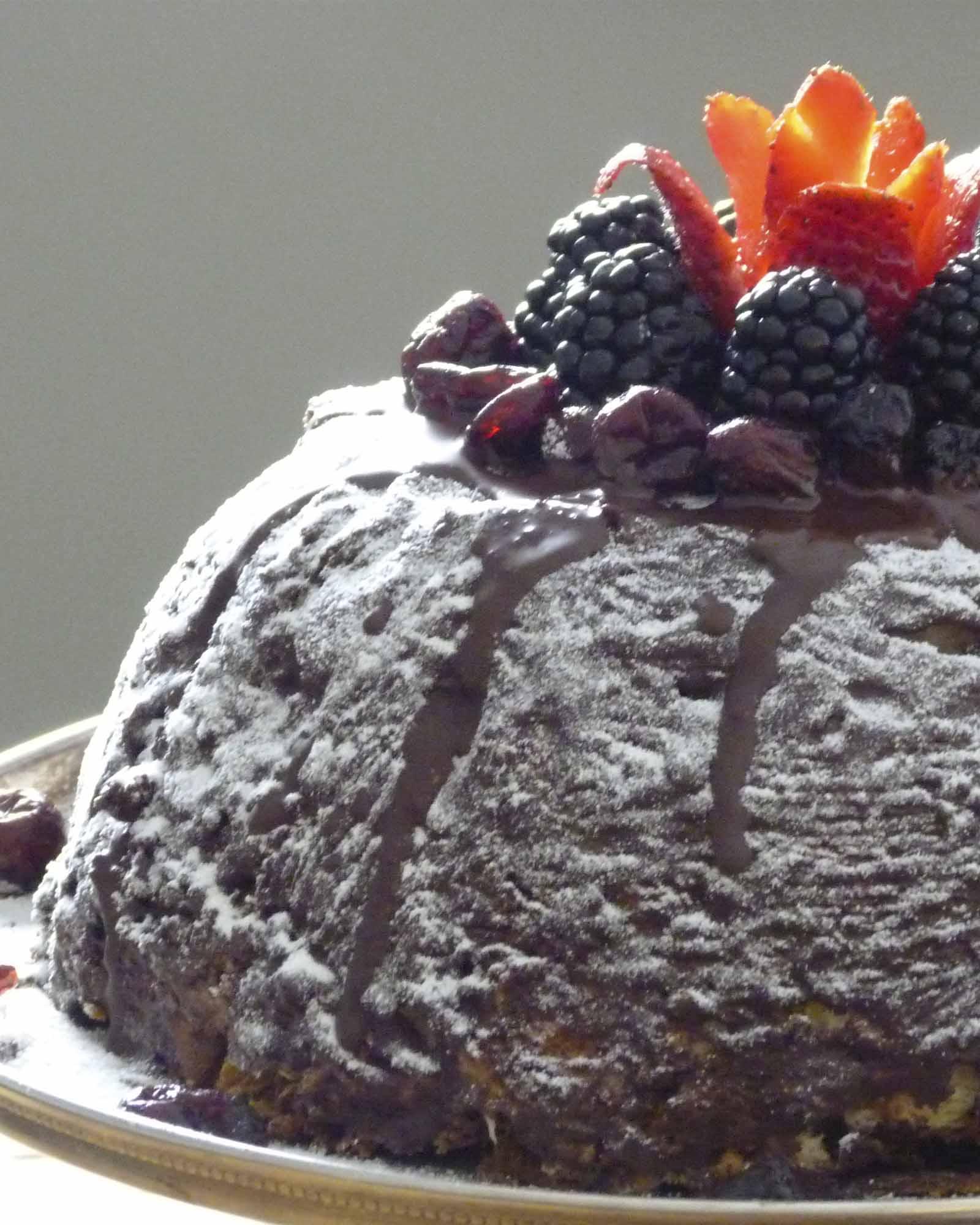 Cómo hacer panettone relleno de mascarpone con pistachos y chocolate