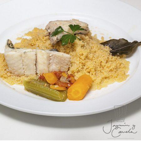 Cuscus de pescado - Cuscus di Pesce
