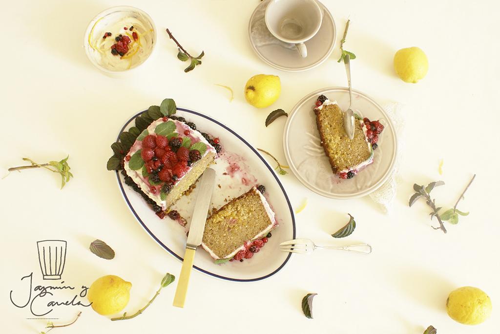 plum cake limon, Torta di limone