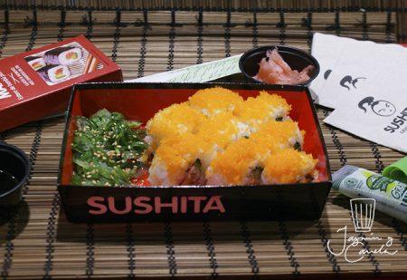 sushi paso a paso Receta CALIFORNIA ROLLS
