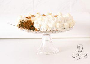 carrot cake Pastel de zanahoria