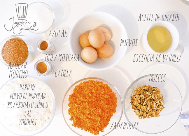 ingredientes-carrot-cake-pastel-de-zanahoria