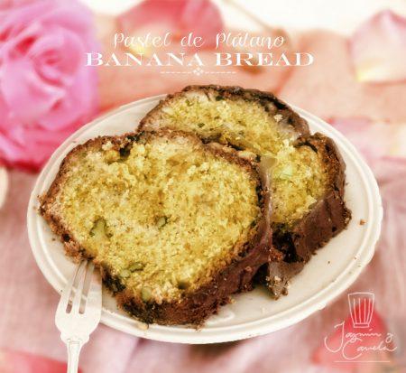 pastel de plátano, Banana Bread