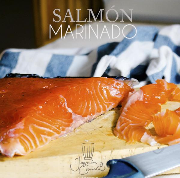 Salmon Marinado receta