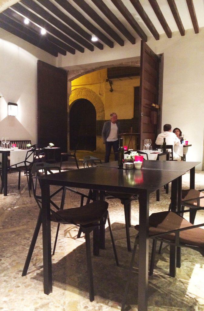 Receta del gastrobar Can Cera Hotel de Palma de Mallorca Esqueixada de Bacalao con verduras de la tierra Bacalao con Verduras