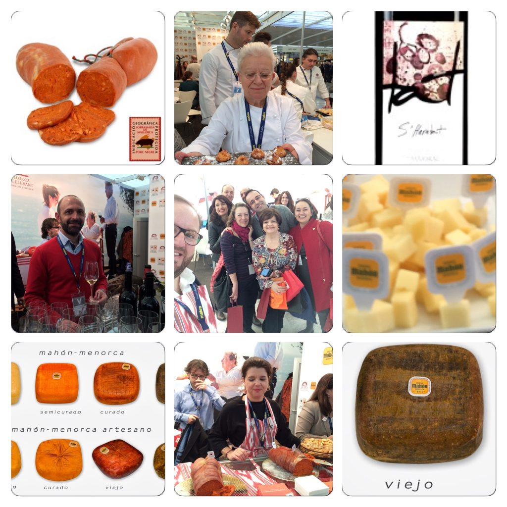 top 15 madrid fusión 2016 Tommy Ferragut queso Mahon vino s heretat sobrasada de mallorca,
