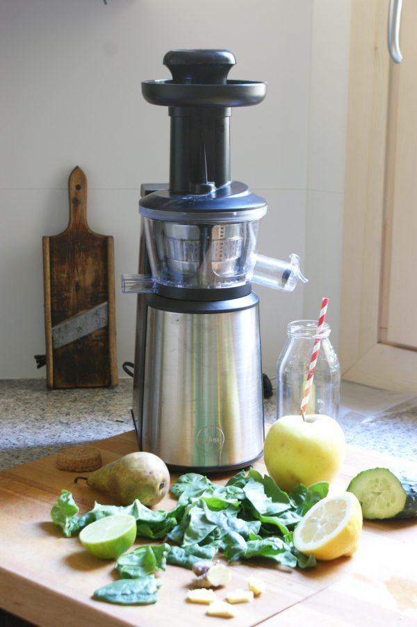 Receta Smothie verde detox Eldom Perfect Juicer