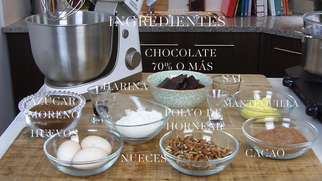 Receta de Brownie chocolate Doble, fácil y muy bueno. ESte brownie de chocolate con nueces es uno de mis postres preferidos