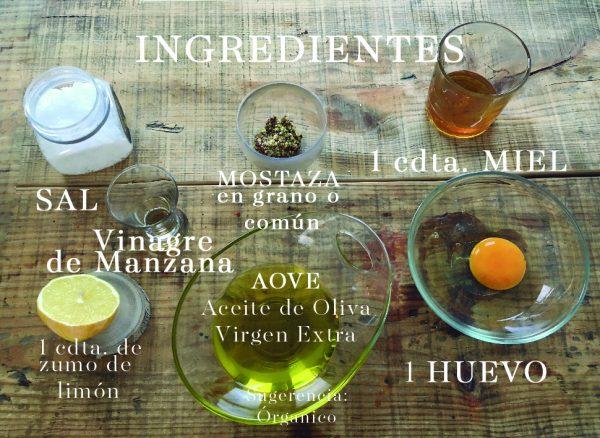 Mayonesa casera ingredientes