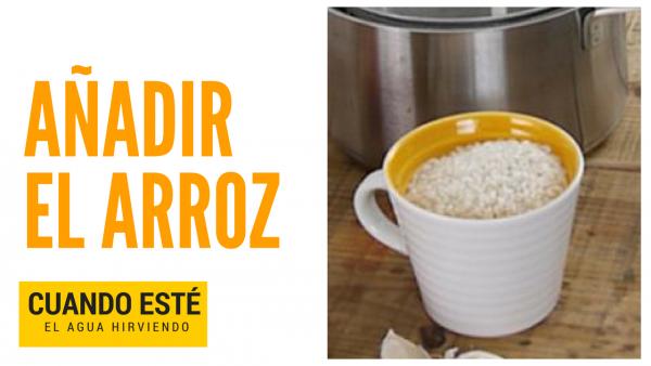 Cómo hacer arroz blanco perfecto en 15 minutos. Kale