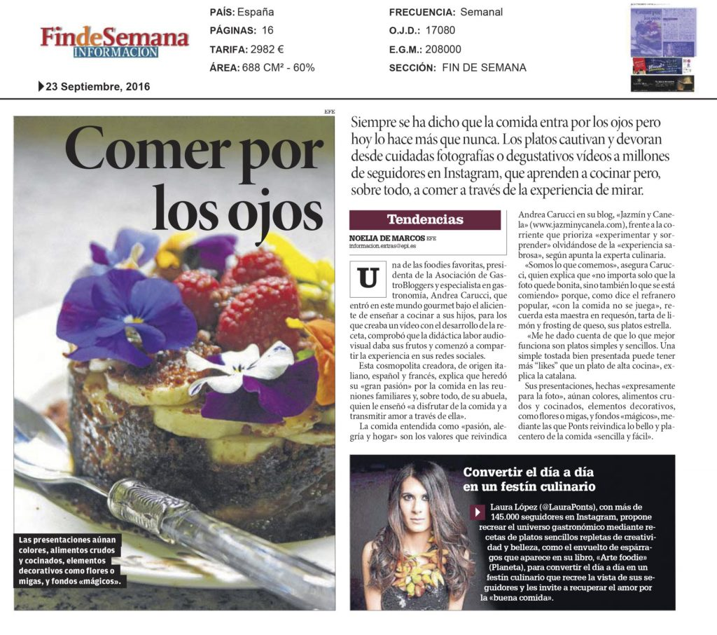 Prensa-andrea-carucci-laura-ponts-suplemento-fin-de-semana-informacion-alicante-septiembre-2016-