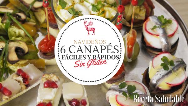 6 canap s navide os f ciles r pidos y muy sanos jazmin for Canapes faciles y rapidos