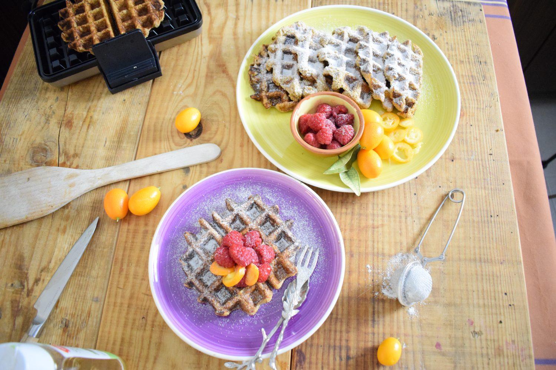 Cómo preparar gofres saludables Súper Proteicos | Sin azúcar, sin gluten y sin lácteos